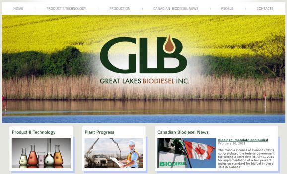 Great Lakes Biodiesel Canadian plant development