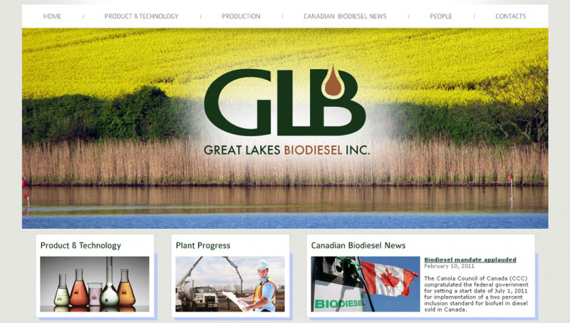 Great Lakes Biodiesel Plant