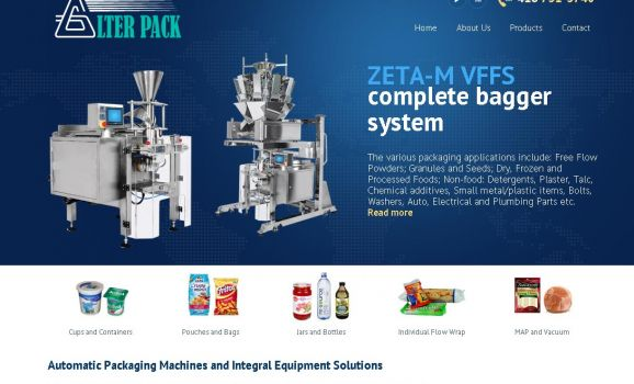 North America distributor of packaging machines