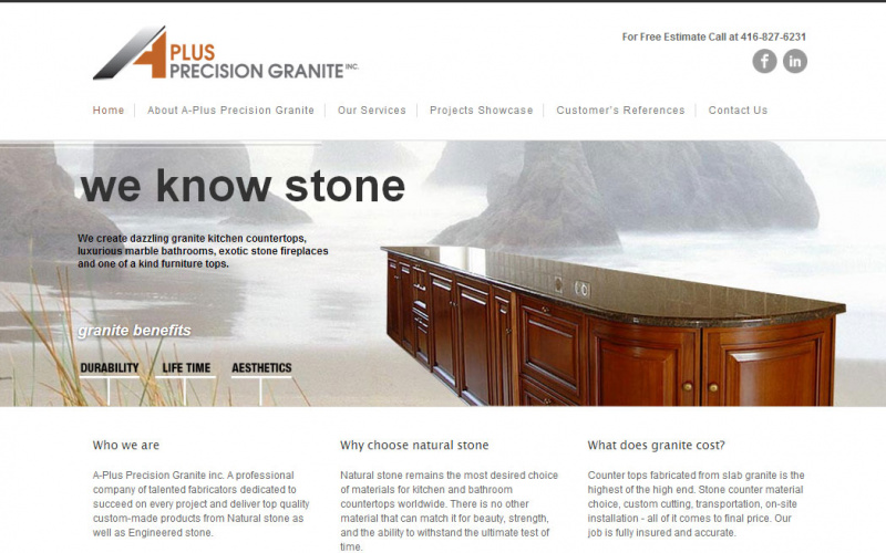 A-Plus Precision Granite
