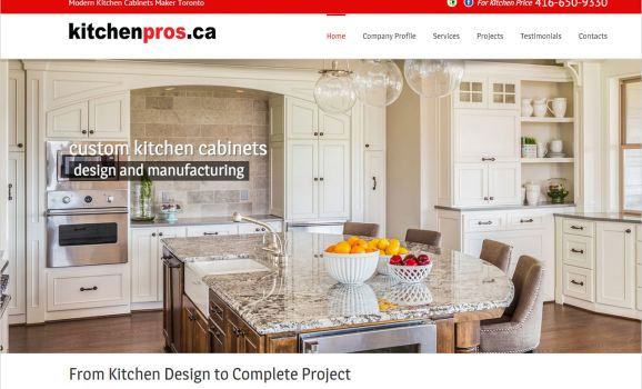 Toronto kitchen cabinets manufacturer