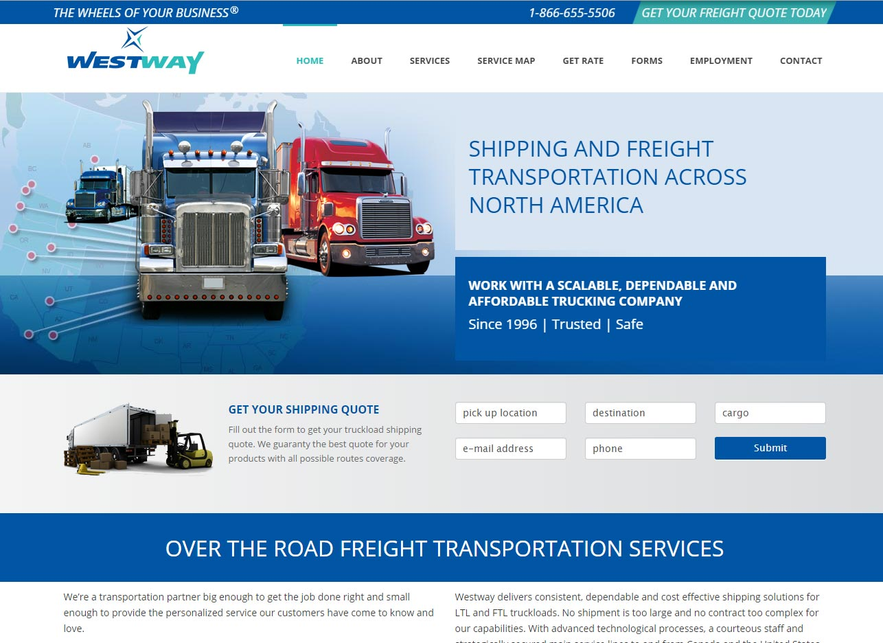 shipping freight company